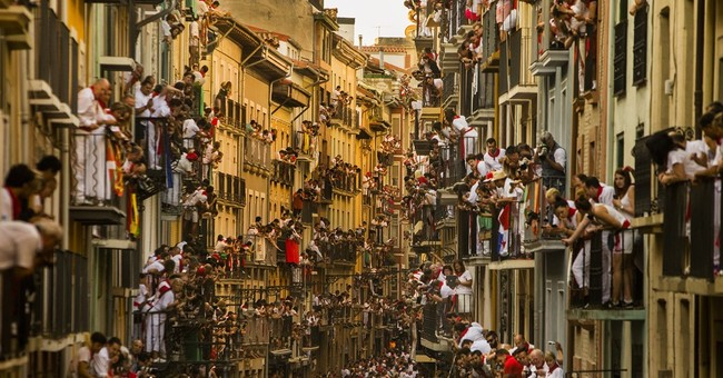 Spain: 2 Americans, 1 Briton gored in 1st Pamplona bull run