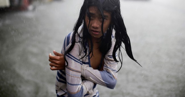 Image of Asia: Soaked by typhoon rains in the Philippines