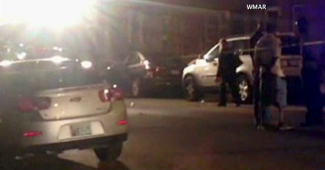 Police: Gunmen from 2 vans fatally shoot 3 in Baltimore