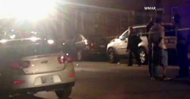 Police: Gunmen from 2 vans fatally shoot 3 in Baltimore