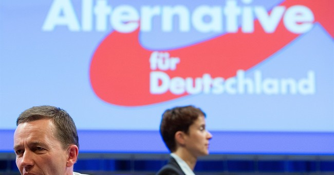 Euroskeptic German party founder quits after leadership loss