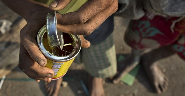 Myanmar street kids turn to sniffing glue to forget hunger