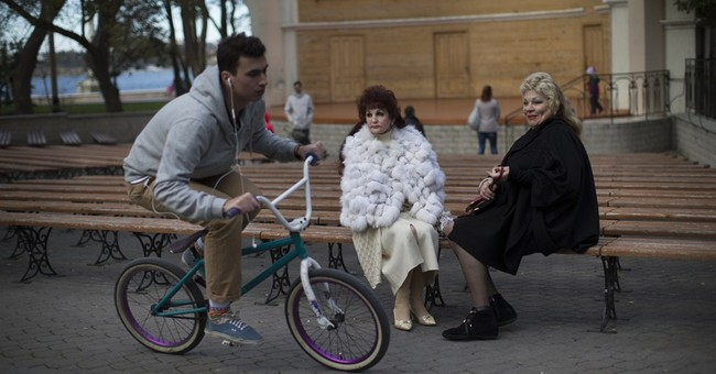 AP PHOTOS: Crimea's people face challenges as part of Russia