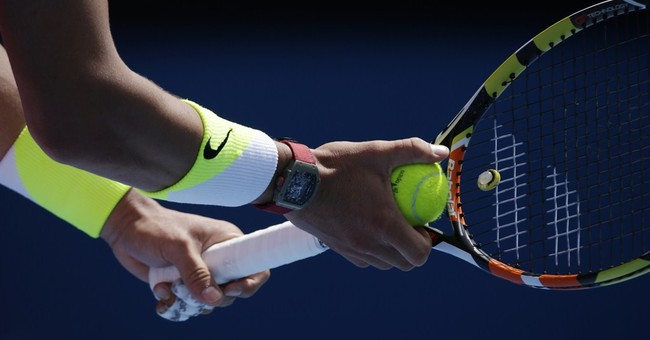 Rafael Nadal's new racket comes with a power switch
