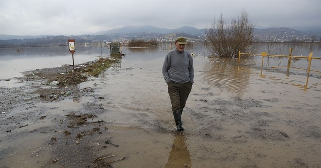 Dozens of homes flooded in Bosnia after heavy rainfall