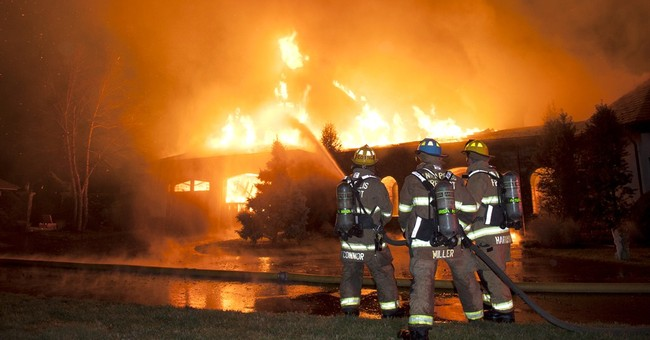 Fire official: 6 unaccounted for in Maryland mansion blaze