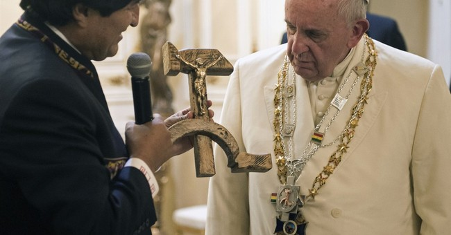 Vatican: 'Communist crucifix' sign of dialogue, not ideology