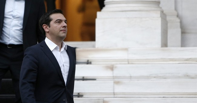 The Latest: Greece seeks 53.5B euros in new bailout package