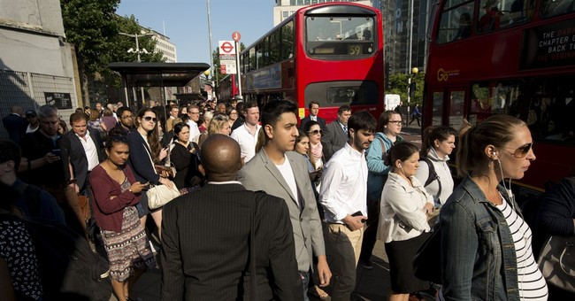 London's commuters make do as strike shuts subway system