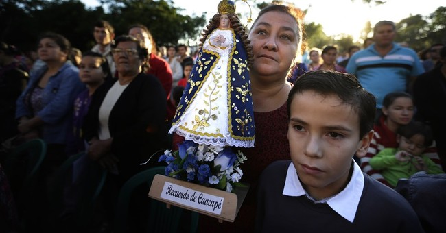 Pope to celebrate Mass in Paraguayan town devoted to virgin