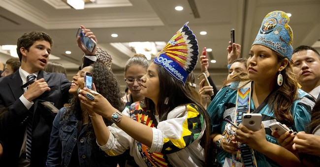 First lady addresses inaugural Native American youth summit