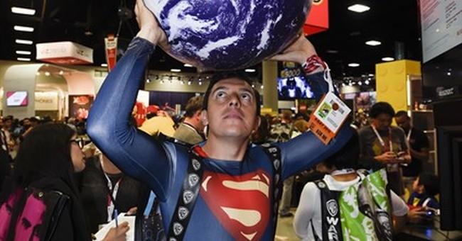 AP PHOTOS: Costumes rule at Comic-Con fan fest