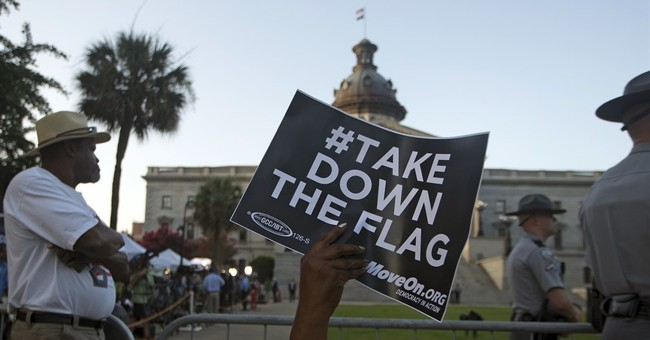 The Latest: Georgia park replaces stolen Confederate flag