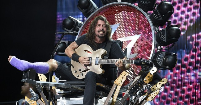 AP Interview: Dave Grohl says injury has made Foos stronger