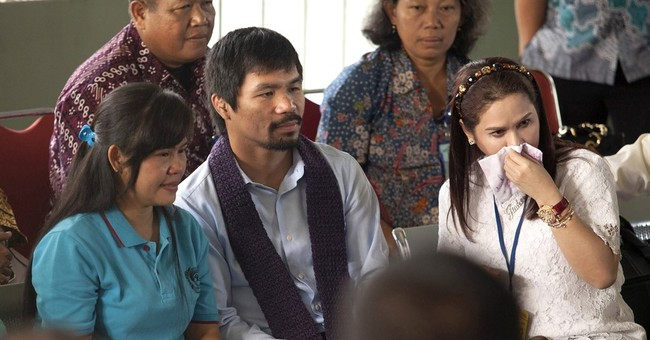 Pacquiao seeks mercy for Filipino on death row in Indonesia