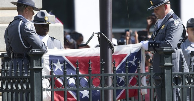 The Latest: Georgia park replaces stolen Confederate flag