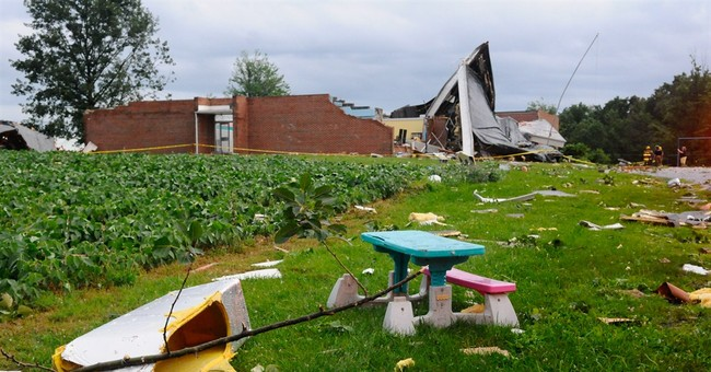 National Weather Service says 3 tornadoes hit Pennsylvania