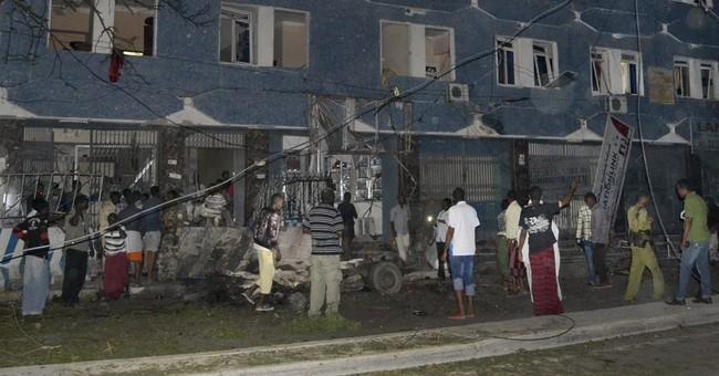 Police: 10 killed as gunmen storm 2 hotels in Somali capital