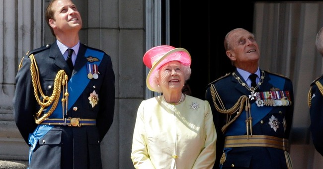 Prince Philip caught on camera swearing at photographer