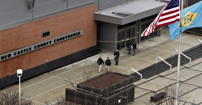 Jurors: Court gunman's 3 relatives guilty of cyberstalking