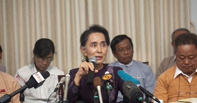 Myanmar opposition to run in November polls despite doubts