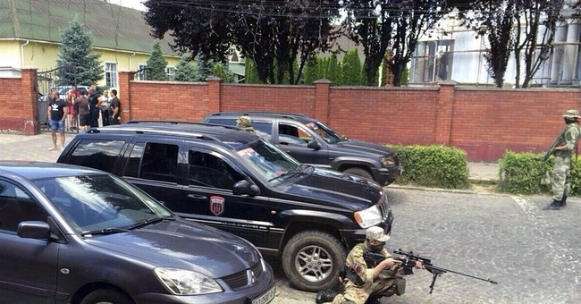 At least 2 dead in in Ukraine sports club attack