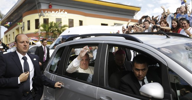 The Latest: Pope takes off for Rome, wrapping up LatAm visit