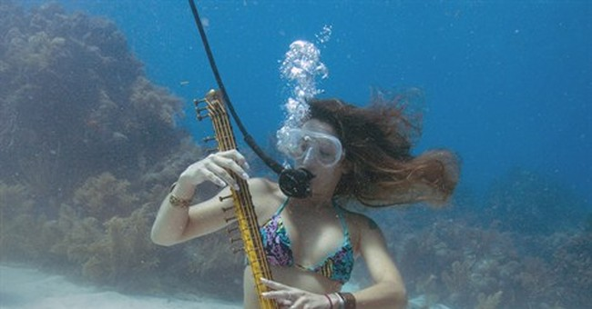 Playing the Lower Keys: Concert piped underwater in Florida