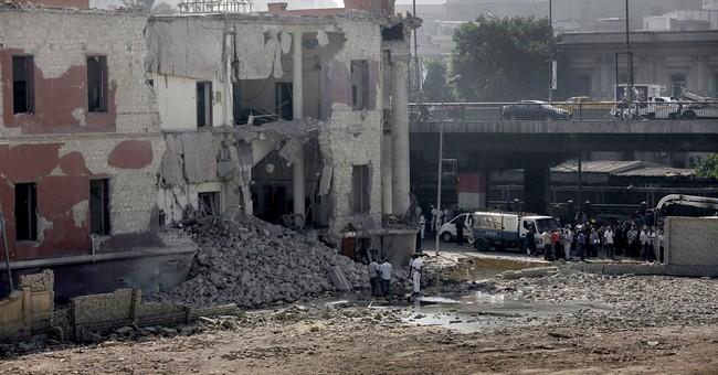 Car bombing at Italian Consulate in Egypt's capital kills 1