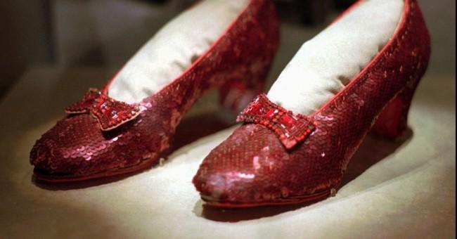 $1 million reward offered for stolen Judy Garland slippers