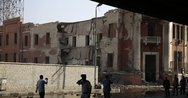 The Latest: Egypt to repair Italian Consulate after bombing