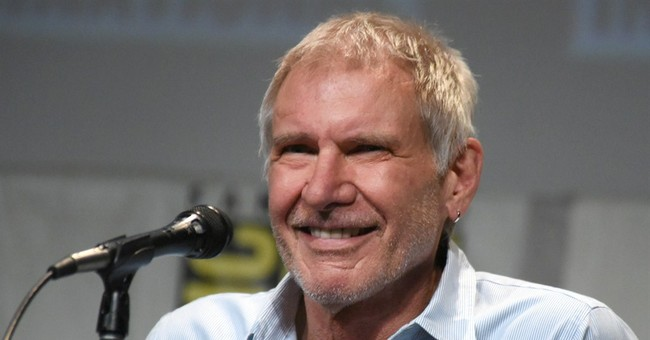 Harrison Ford gives advice to young 'Star Wars' cast members