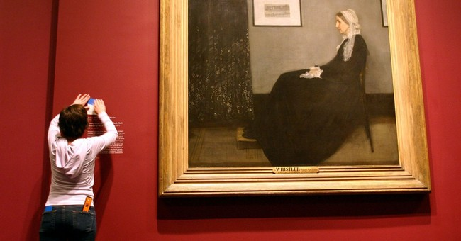 'Whistler's Mother' on display at Massachusetts museum
