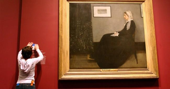 'Whistler's Mother' on display at Massachusetts museum