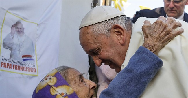 Speaking up for the disenfranchised, pope reaches out to all