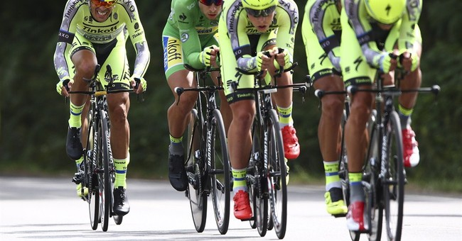 Basso's withdrawal with tumor hits Contador's hopes at Tour