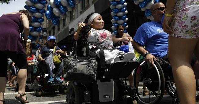 NY disability pride parade draws thousands marking milestone