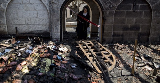 Israel arrests suspects in arson attack on famous church