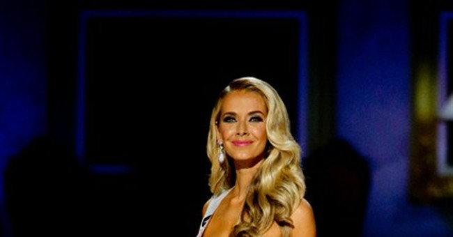 Miss Oklahoma Olivia Jordan is crowned new Miss USA