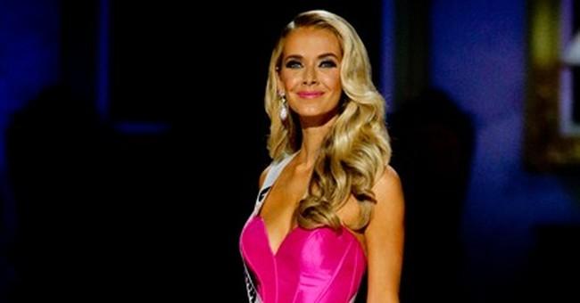 Miss Oklahoma Olivia Jordan is crowned new Miss USA