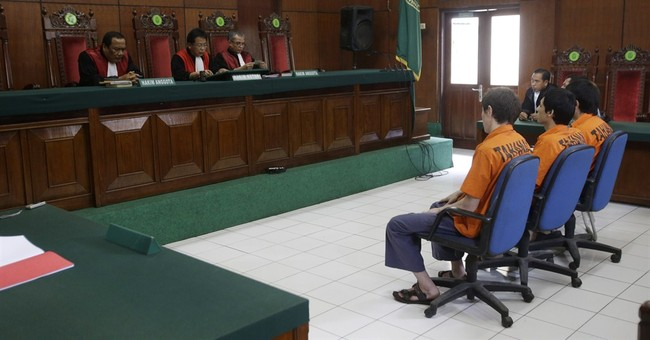 3 Chinese Uighurs get 6 years over terrorism in Indonesia