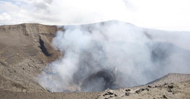 Up close: Vanuatu volcano puts on a glittering, primal show