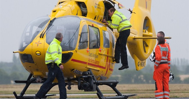 Prince William starts work as air ambulance pilot