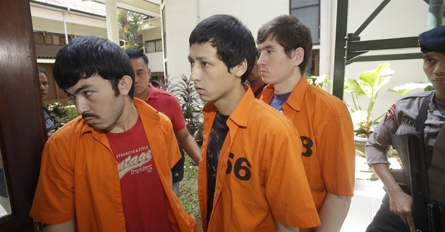 3 Chinese Uighurs get 6 years over terrorism in Indonesia