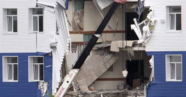 23 dead, 19 injured in military barracks collapse in Russia