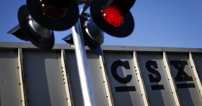 CSX 2Q profit improves 5 percent as fuel costs stay low