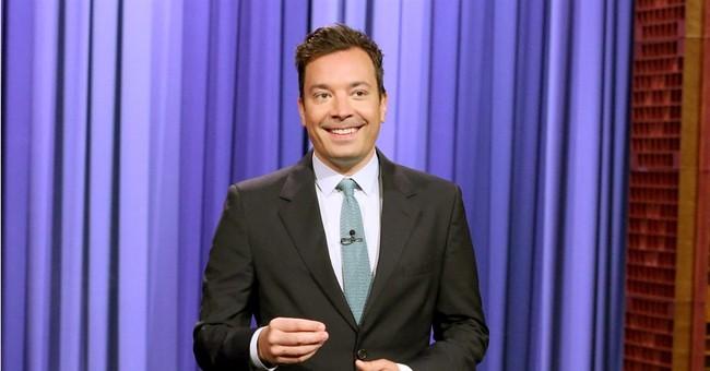 Jimmy Fallon back at 'Tonight' following gruesome injury