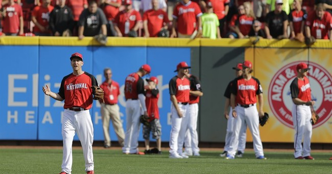 The Latest: Trout homers, AL wins All-Star Game 6-3