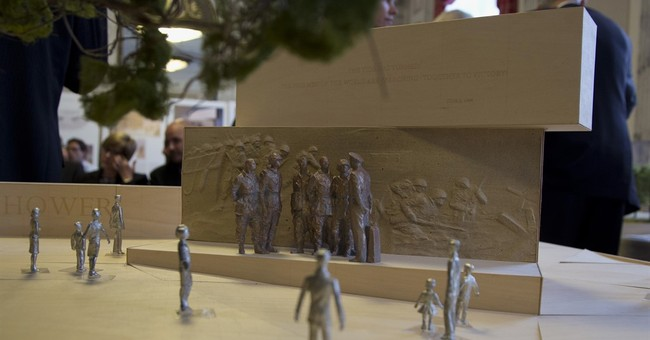 Taiwan pledges $1M to help build Eisenhower Memorial in DC