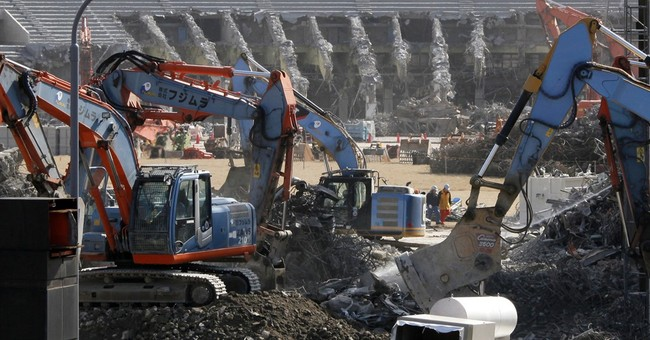 Tokyo Olympic venue shaping up as world's costliest stadium